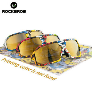 ROCKBROS Bike Polarized Sunglasses Full Frame Outdoor Sports Cycling Glasses