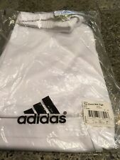 Adidas Tm Clima Compression Short Large Mens White New