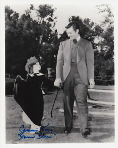 CAMMIE KING - GONE WITH THE WIND B/W - SIGNED 10x8 COA