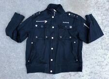 Parish Men's Vintage Navy Military Army Jacket Coat Size Large