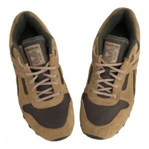 Reebok Womens Classic Retro Running Shoes Brown 406 PYE 1-120473 Suede 8M
