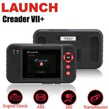 LAUNCH X431 Creader VII+ 7+ OBD2 Scanner Diagnostic Code Reader Engine ABS SRS