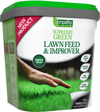 Lawn Feed and Improver Fertiliser with rootgrow 4.5kg Treats 125m2 FREE 24hr DEL