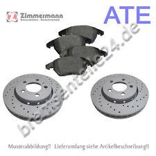 ZIMMERMANN SPORTBREMSSCHEIBEN + ATE Bremsbeläge vorne VW 239x18mm