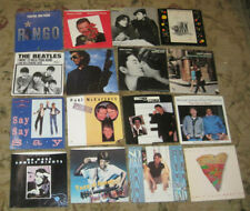 LOT of 16 SOLO BEATLES 45rpm Picture Sleeves (only)