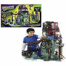 "NEW Teenage Mutant Ninja Turtles Secret Sewer Lair Playset TMNT 2012 40"" tall"