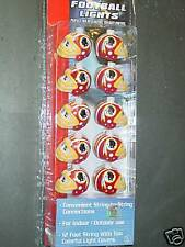 NFL Helmet Light Set Washington Redskins