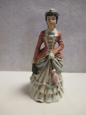 1972 First  Avon Calling Lady Bottle Porcelain Figurine NAAC
