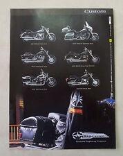 A823-Advertising Pubblicità-2000 - YAMAHA CUSTOM - STAR LINE