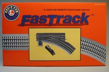 LIONEL FASTRACK REMOTE SWITCH Right train track wye turnout 6-12046