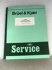 Bruel & Kjaer / B&K 2635 Vibration Pick-up Conditioning Amplifier Service Manual