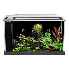 Fluval Spec Aquarium 10l / 19l Gloss Black White LED Light Hagen Fish Tank