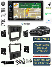 2010-2014 MUSTANG NAVIGATION GPS BLUETOOTH TOUCHSCREEN CD/DVD USB Car Stereo PKG