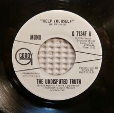 UNDISPUTED TRUTH Help Yourself Orig '74 MOTOWN Mono Stereo Promo Soul 45 NM-