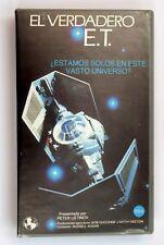 CINTA VHS EL VERDADERO ET - PETER USTINOV - DOCUMENTAL