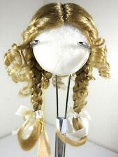 Vintage Kemper Originals Doll Wig 'Katrina' Pigtails Light Brown 6-7 7-8
