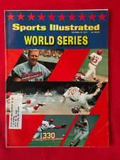 VINTAGE SPORTS ILLUSTRATED OCT 19TH 1970 WORLD SERIES REDS ORIOLES