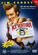 ACE VENTURA: PET DETECTIVE - Jim Carrey, Courteney Cox  NTSC Region 4 DVD
