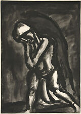 Georges Rouault Reproduction: Winter, leprosy of the earth - Fine Art Print