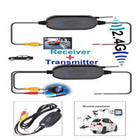 Wireless Rear View Video Transmitter Receiver for Car Truck Backup View Camera