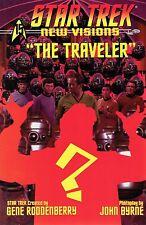 STAR TREK NEW VISIONS THE TRAVELER STANDARD COVER