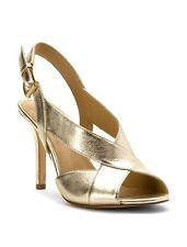 Michael Kors Becky 9 M Oro Pallido Metallizzato da Festa Punta Aperta a  Spillo e6ba8e73c1b