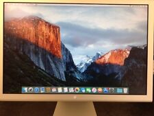 "Apple Cinema Display Aluminum LCD A1081 20"" See Full Description"