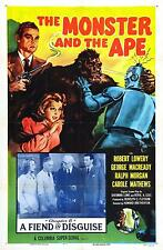 Monster and the Ape  - Classic Cliffhanger Serial Movie DVD Robert Lowery