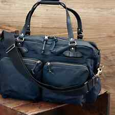 CC FILSON- 24-Hour Tin Briefcase Bag Navy - NEW w Tags -11070140 Bridle Leather