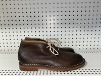 Cole Haan Glenn Mens Leather Lace Up Casual Ankle Chukka Boots Size 8 M Brown
