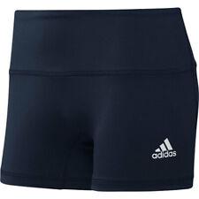 "Adidas Women's Climalite Techfit Spandex Shorts - 4"" Inseam - Navy - Small"