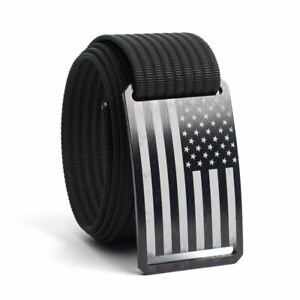 GRIP6 Belts For Men & Women Interchangeable Nylon Web Belts & Buckles Adjustable