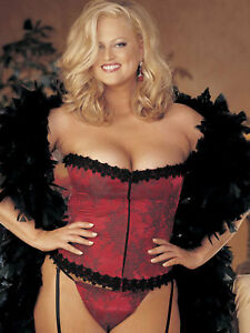 New Shirley of Hollywood Floral Tapestry Strapless Corset with Panty Size 42
