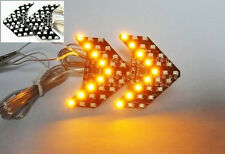 Amber 27 SMD LED Arrow Panel Rear View Sequential Side Mirror Turn Signal Light