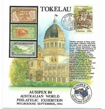 Tokelau Ausipex 84 Philatelic Exhibition Card Limited issue sold as per scans