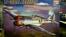 ACADEMY 1:48 KIT PLANE AEREO DA MONTARE P-36A HAWK  ART 2181