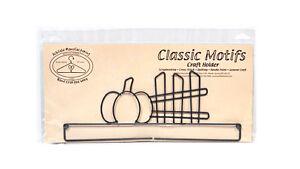 Classico Motivi Zucca E Recinzione 30.5cm Split Fondo Craft Supporto