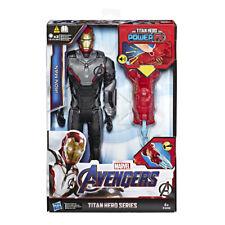 MARVEL - Figuras De Acción Titan Power Fx Iron Man 4 Años