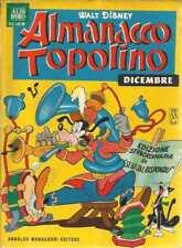 ALMANACCO TOPOLINO 1964 NUMERO 12 + BOLLINO
