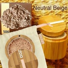 Zao Make-up 504 MINERAL SILK Make-up Puder Foundation + Finisher Naturkosmetik