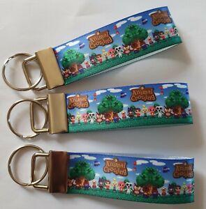 Animal Crossing Style New Horizons Nintendo Switch Keyring Key Fob Handmade Gift