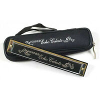 Hohner 455 Echo Celeste Tremolo Harmonica w/ Case - Key of D