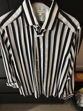 Reiss Men's Striped Shirt Large