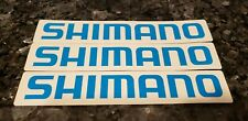 SHIMANO Sticker Decal Bike Bicycle Cycling Fishing Vinyl 3 Stickers