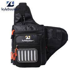 waterproof Fly Fishing Bag Multi Function Waist Bag Tackles Pack Sling Bag