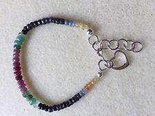 Handmade Sapphire Sterling Silver Fine Bracelets