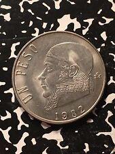 1982 Mexico 1 Peso Lot#0400 High Grade! Beautiful!