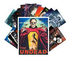 24 Postkarten Set * Zombie Skelett Horror Vintage Film Plakat CC1003