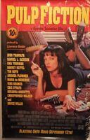 Pulp Fiction Promo Poster For Sept. 12th Video Release/Uma Thurman/Travolta-New!