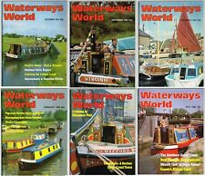 Waterways World Job Lot of 6 Issues Between October 1981 to May 1982